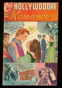 HOLLYWOOD ROMANCES #53 1970-CHARLTON ROMANCE-FILM G