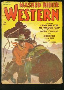 MASKED RIDER WESTERN 1951 MAY-THRILLING PULP G