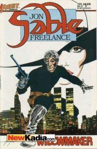 Jon Sable: Freelance #21, VF+ (Stock photo)