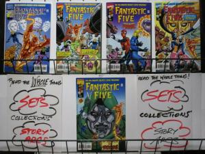 FANTASTIC FIVE (1999) 1-5  COMPLETE the latest line up+