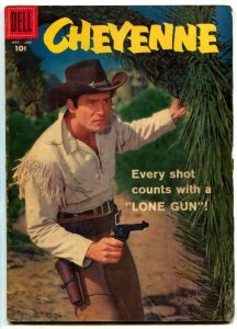 Cheyenne #5 1958- Dell Western- Clint Walker VG/F