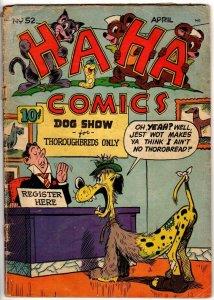 HA HA COMICS 53 April 1948 POOR-FAIR