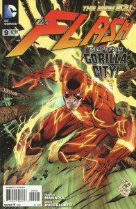 Flash #9 (2011 4th series) Tony Daniel variant (ungraded) stock image ID#B-4