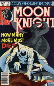 Moon Knight (1st Series) #2 VF; Marvel | save on shipping - details inside