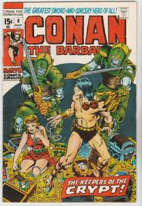 Conan the Barbarian #8 (Aug-71) FN+ Mid-High-Grade Conan the Barbarian