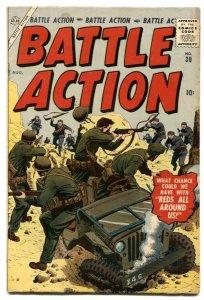 Battle Action #30 1957-  Atlas War comic VG+