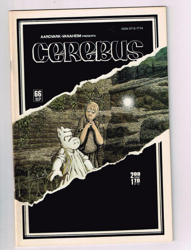 Cerebus The Aardvark # 66 VF/NM Aardvark-Vanaheim Comic Book Dave Sim 1st Pr S10