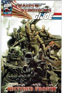 Transformers/G.I. Joe: Divided Front #1 (2004) G.I. Joe Variant NM