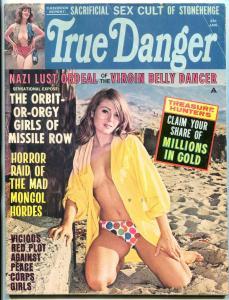 Man's True Danger Magazine January 1968- Nazi Lust Ordeal