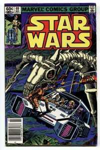 STAR WARS #69-1st appearance of MYTHOSAUR-Newsstand 1983