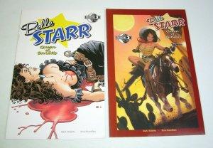 Belle Starr: Queen of Bandits #1-2  complete series - western bad girl set