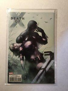 Death Of X 1 Near Mint Nm Choi Variant Marvel
