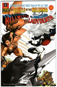 Hellwitch Hellbourne #1 Homage Edition Lady Death Ltd to 500 Signed w/COA (NM)