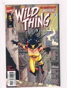 Wild Thing #2 VF/NM 1st Print Marvel Comics 2 Wolverine Daughter X-Men DE3
