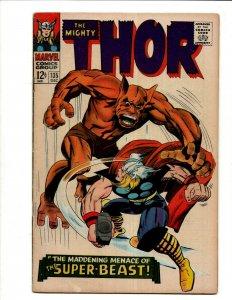 Mighty Thor # 135 FN Marvel Comic Book Odin Loki Asgard Enchantress Avengers BJ1
