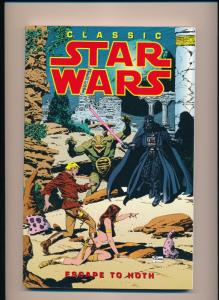 Dark Horse Comics Classic STAR WARS ESCAPE TO HOTH Graphic Novel VF/NM (SRU737)