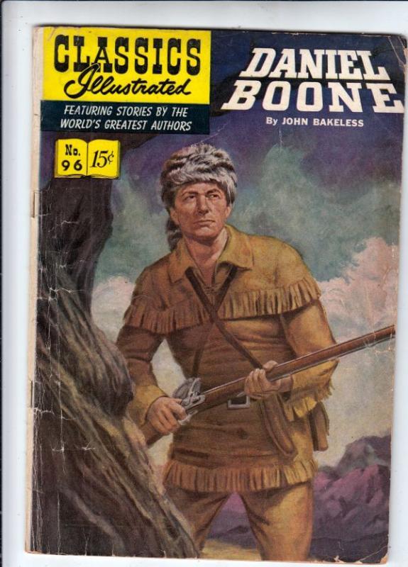 Classics Illustrated #96 (Jun-52) VG Affordable-Grade