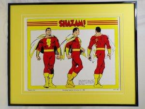 DC Comics Shazam 360 View 16x20 Framed Poster Display