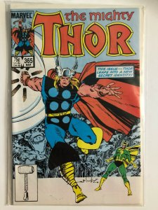 THE MIGHTY THOR #365 1985 MARVEL / MED CNDITION