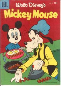 MICKEY MOUSE 46 VG Mar. 1956 COMICS BOOK
