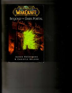 2 Books World of Warcraft: Beyond the Dark Portal, Rise of the Horde J392