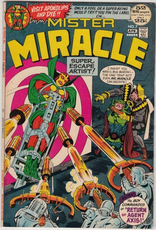 Mister Miracle 7 strict VF/NM 9.0 High-Grade 1st Appearance -Kanto  C'ville Coll
