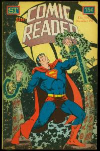 The Comic Reader Fanzine #151 1977- Jim Starlin Superman cover G