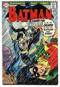 Batman #180-1966-DC Silver Age - Death issue! VF