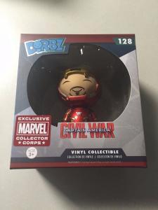 Iron Man # 128 Dorbz Marvel Collector Corps Exclusive Figure Vinyl Collectib TB1