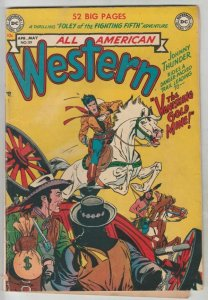 All American Western # 111 Strict FN/VF- Mid-High-Grade Kubert, Tony Barrett