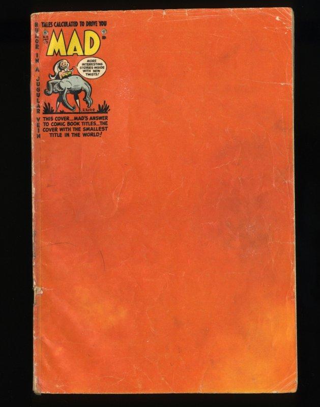 Mad #13 FA/GD 1.5