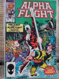 Alpha Flight 17 VF/NM Unread