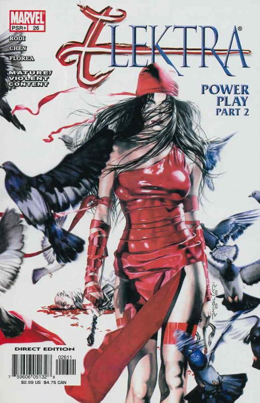 Elektra (3rd Series) #26 VF/NM; Marvel | save on shipping - details inside