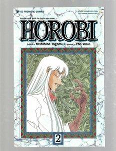 Lot Of 5 Horobi Viz Premiere Comic Books # 1 2 3 4 5 Len Wein Yoshihisa Taga SB5