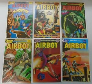 Airboy, 11 Different From:#2-41 + Special, 8.0/VF (1986-1988)