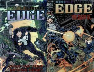 DOUBLE EDGE (1995) ALPHA-OMEGA  the COMPLETE set!