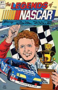 Legends of NASCAR, The #1 (2nd) FN; Vortex   save on shipping - details inside