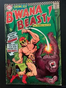 Showcase (1956) 66 Fine+ (6.5) First B'wanna Beast