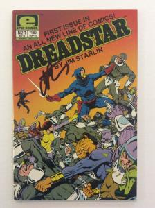 DREADSTAR #1 -Origin of Dreadstar-Signed by Writer & Artist Jim Starlin with COA