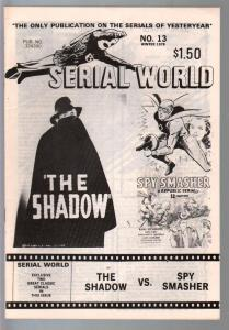 Serial World #13 1978-Shadows vs Spy Smasher-FN