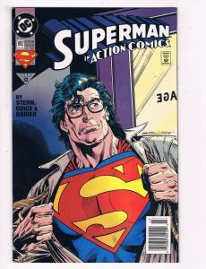 Superman In Action Comics # 692 VF/NM Dc Comic Books Justice League Batman! SW11