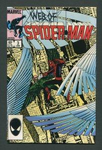 Web of Spiderman #3  /  9.4 NM    June 1985