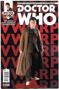 DOCTOR WHO #5 B, NM, 10th, Tardis, 2014, Titan, 1st, more DW in store, Sci-fi