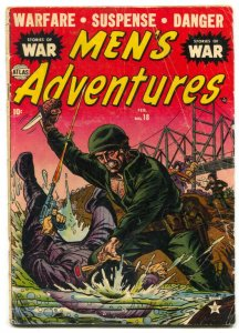 Men's Adventure #18 1952- Korean War- Atlas comic G