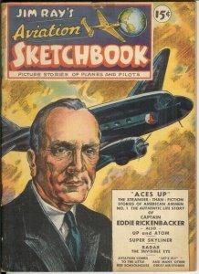 JIM RAYS AVIATION SKETCHBOOK 1 VG  Mar.-Apr. 1946 COMICS BOOK