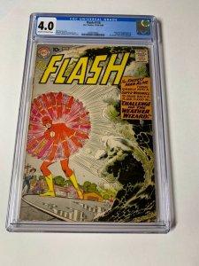 Flash 110 Cgc 4.0 1st Wally West Dc Silver Age