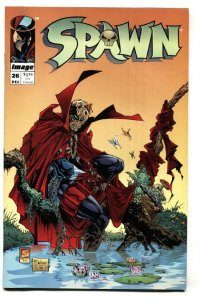 SPAWN #26-1995-Image-Comic book-Great cover nm-