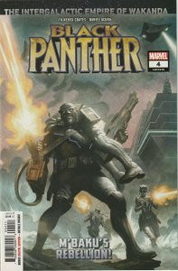 Black Panther # 4 Cover A NM Marvel  2018