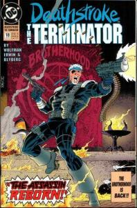 Deathstroke: The Terminator #18, NM (Stock photo)