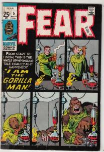 Fear #5 (Nov-71) VG/FN+ Mid-Grade